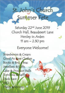 St John's Church Summer Fete